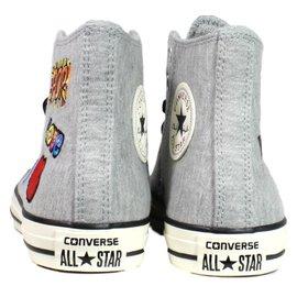 Converse-Sneakers High Top-Grey