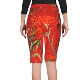 Dolce & Gabbana-Shorts-Rouge
