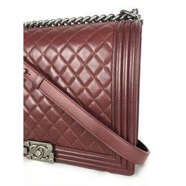 Chanel-Sac à main-Bordeaux