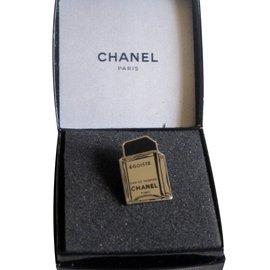 Chanel-Broches-Argenté