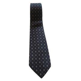 Dior-Cravate-Gris