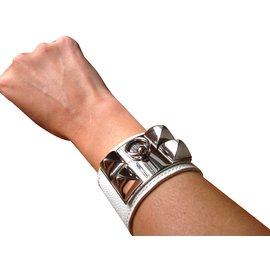 Hermès-Bracelet-Blanc