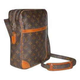 Louis Vuitton-LOUIS VUITTON sac Danube M/M-Marron
