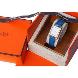 Hermès-Montre collector Cape cod en Argent 925-Autre