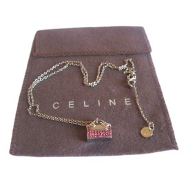 Céline-Necklace-Silvery,Pink