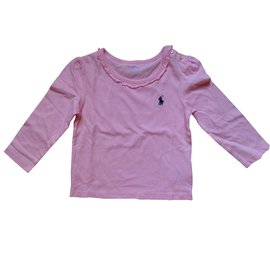 Ralph Lauren-ensemble fille-Rose