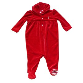 Ralph Lauren-Bodysuit-Red