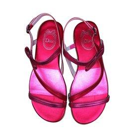 Dior-Kid Sandals-Pink