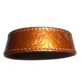 Louis Vuitton-bracelet cuir louis vuitton-Caramel