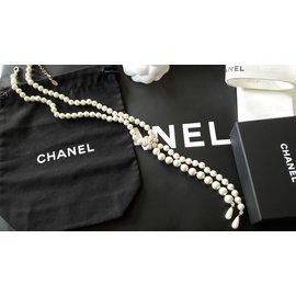 Chanel-Vintage Chanel Sautoir-Doré