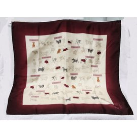 Burberry-Silk Burberry scarf-Multiple colors