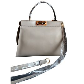 Fendi-Peekaboo regular-Gris