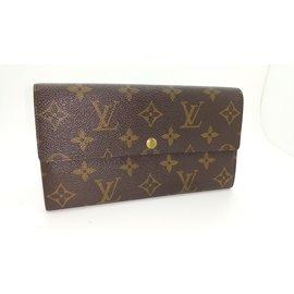 Louis Vuitton-Portefeuille-marron clair