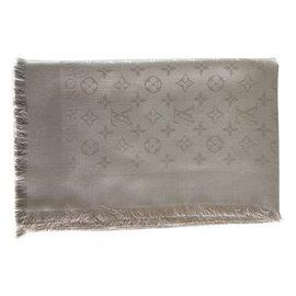 b2d2cc81665 Louis Vuitton-Monogram scarf-Beige ...