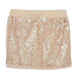 Billieblush-Jupe sequins Billieblush-Doré