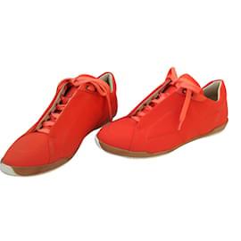 Hermès-Sneakers-Orange