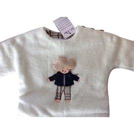 Baby Dior-Combinaison Baby Dior neuve avec étiquette,  3 mois-Écru