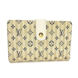 Louis Vuitton-Portefeuille-Beige