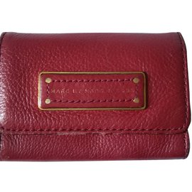 Marc by Marc Jacobs-Petite maroquinerie homme-Rouge