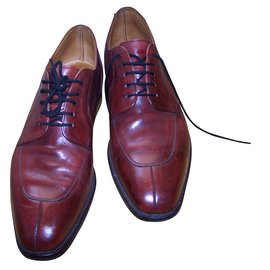 Cole Haan-Lace ups-Dark red