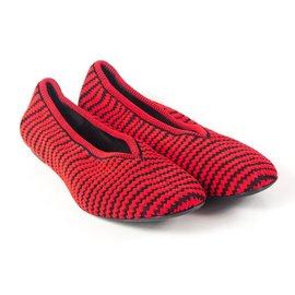 Céline-Runway Ballet Flats-Red