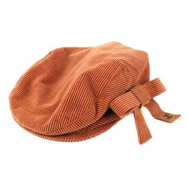 Chanel-Newsboy Hat-Orange