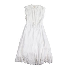 Rebecca Taylor-Embroidered Dress-White