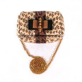 Christian Louboutin-Sac bandoulière imprimé léopard-Multicolore