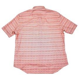 Louis Vuitton-Chemise à boutons-Rouge