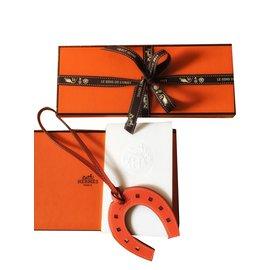 Hermès-PADDOCK FER A CHEVAL VEAU SWIFT-Orange
