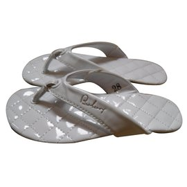 Burberry-Kids Sandals-White