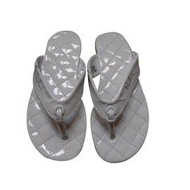 Burberry-Kids Sandals-White