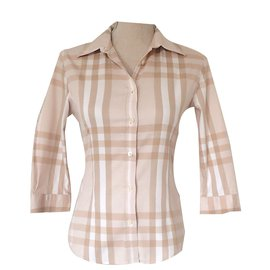 Burberry-Top-Beige