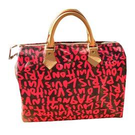 Louis Vuitton-speddy graffiti-Multicolore