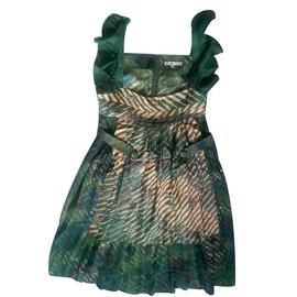 Les Petites-Dress-Multiple colors,Green