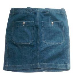 Isabel Marant-Skirt-Blue