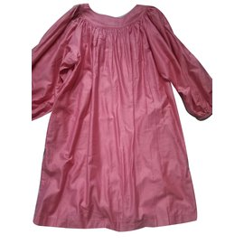 Yves Saint Laurent-Robe-Rose