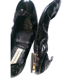 Burberry-Ballet flats-Black