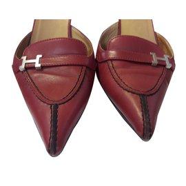 Hermès-Heels-Red