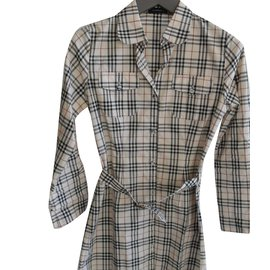 Burberry Brit-Robe fille-Multicolore