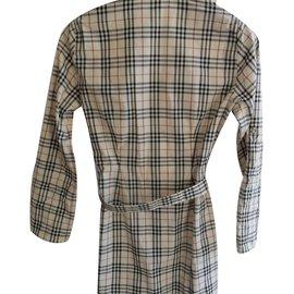 Burberry Brit-Robe fille-Multicolore