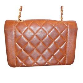 Chanel-Sac à main-Marron