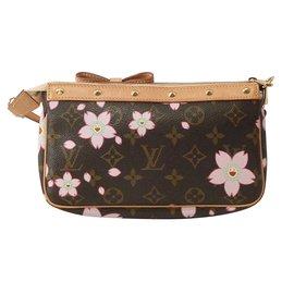 Louis Vuitton-Takashi Murakami Cherry Blossom Monogram-Marron