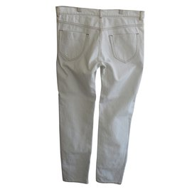 Maison Martin Margiela-MAISON MARTIN MARGIELA LIGHT GREEN DENIM JEANS-Green