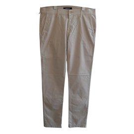 Karl Lagerfeld-LAGERFELD BRAND NEW PANTS BEIGE CHINOS STYLE-Beige