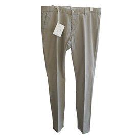 Autre Marque-Pantalons homme BERWICH-Beige
