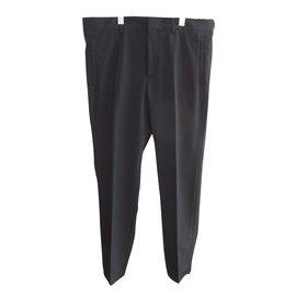 Prada-Pantalons homme-Bleu Marine