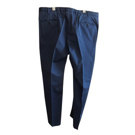 Boglioli-Pantalons homme-Bleu