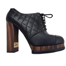 Chanel-CHAUSSURES CHANEL-Noir