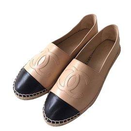 Chanel-Espadrilles Chanel-Beige